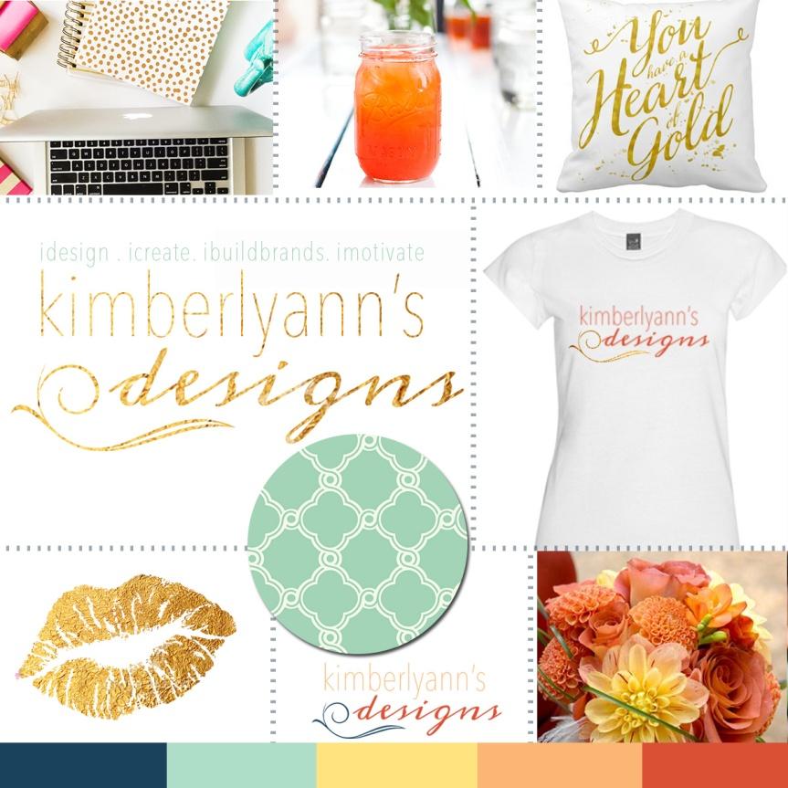 KImberlyAnnDesign Branding Board